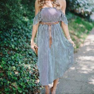 Amuse Society Sheet Bliss dress
